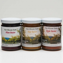 Assorted Fruit Butters – 3 Jars