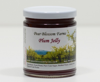 Plum Jelly <p />Net wt. 9 oz.